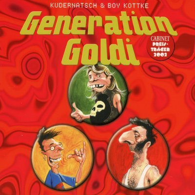 Kudernatsch & Boy Kottke – Generation Goldi (CD-Hörbuch)